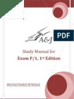 A&J Study Manual for SOA Exam P/CAS Exam 1