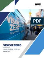 Vision Zero Year 3 Report
