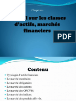 Chp1 Rappel Sur Les Classes d Actifs, March s Financiers