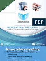 Apresentação Serviços Prime Promotion