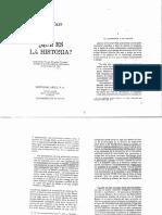 Carr Que Es La Historia Cap1 El Historiador y Los Hechos