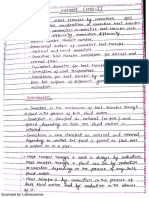 Convection Chemical Engineering Mumbai University Notes
