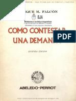 Como Contestar Una Demanda - Falcon, Enrique M.-FreeLibros.pdf