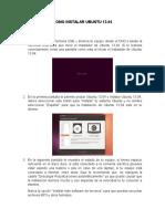 Manuel Instalacion Linux (Ubuntu)