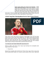 3 Klub Yang Bisa Mendapatkan Service Dari Wayne Rooney