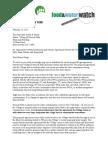 Mayor Borge Agreement Letter