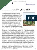 Página_12 El País Política, El Desacuerdo y La Igualdad