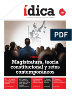 MAGISTRATURA, TEORÍA Y RETOS CONTEMPORÁNEOS