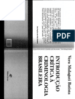 [Livro] Malaguti Batista, Introdução Critica a Criminologia Brasileira