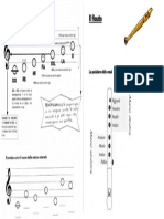 Note Musicali e Flauto Unica Pag