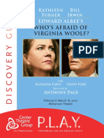 Who s Afraid of Virginia Woolf - Support Material