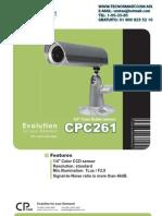 CPCAM CPC361 camara bullet