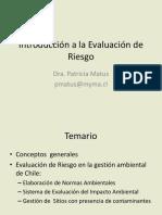 6.Introduccion a La Evaluacion de Riesgo