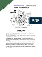 Military Resistance 8G6 KABOOM