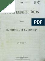 1862 Ezequiel Rojas - Justificación atentado contra Bolívar en 1828