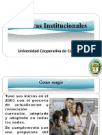 1. Políticas de Indesco  que orientan el área Institucional 11