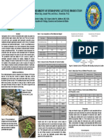 Economic Assessment of Hydroponic Lettuce Production