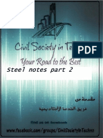 Husam Bani Naser-steel Notes-part 2-Civil Society in Techno