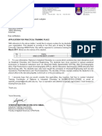 Application Letter for Industrial Training (3)
