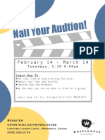 nail your audition