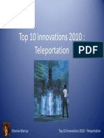Etienne Marcuz Teleportation Power Point