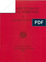 How Not to Solve Ethical Problems-1983