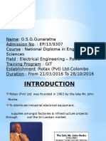PPT of Rotax Ltd-Industrial Training.