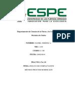 Informe de Mecanica de Suelos (Capilaridad)