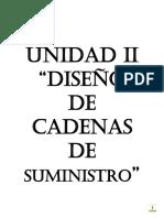 Unidad 2 Cadenas de Suministros