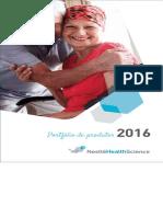 Portfolio Nutrição - Nestle 2016