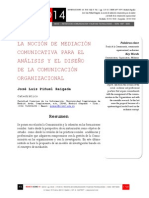 Icono14. A8/V2. La noción de mediación comunicativa para el análisis y el diseño de la comunicación organizacional