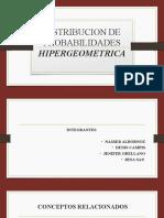 Distribucion de Probabilidades Hipergeometrica (2)