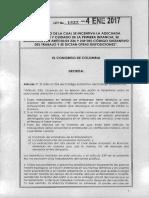 Ley 1822 Del 4 de Enero de 2017 - Ampliaciòn de La Licencia de Maternidad
