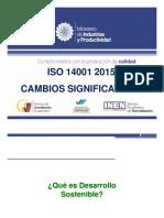 Iso 14001 2015 Cambios Significativos