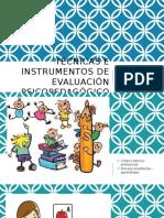 técnicas e instrumentos de evaluación psicológica
