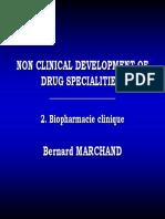 10. Cours B Marchand_ Partie 2_ Biopharmacie Clinique