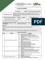 PlanoEnsinoEDO S11 S43 2Semestre2015