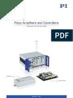 PI Piezo Amplifiers Controllers BRO25E