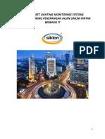 Proposal Dan Spek Teknis Pju Dengan Smart System 2015