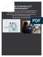 ct radiographer
