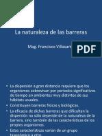 La Naturaleza de Las Barreras