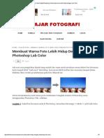 Digital Photoshop_ Membuat Warna Lebih Hidup Dengan Lab Color
