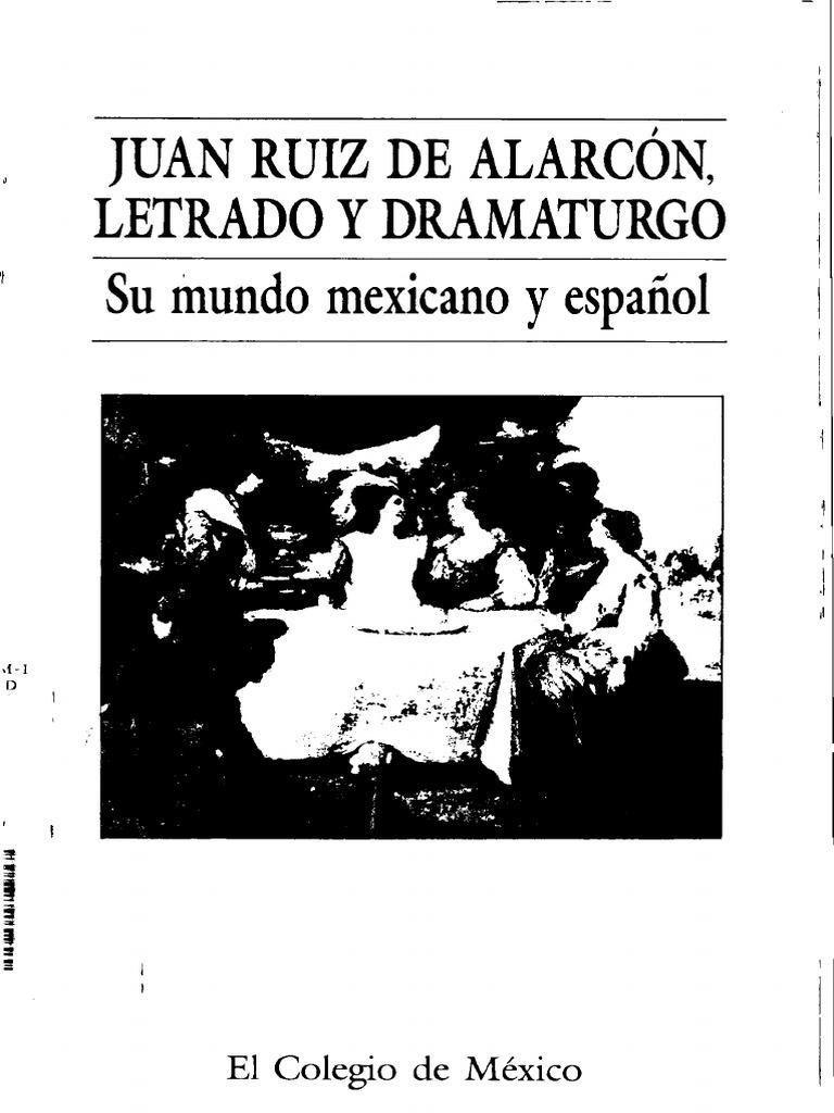 266343331 Juan Ruiz de Alarcon Letrado y Dramaturgo