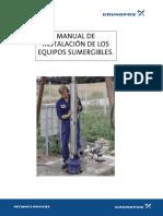 Manual de Instalación Bombas Sumergibles