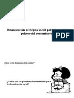07. Dinamización Del Tejido Social Para El Cambio Psicosocial Comunitario