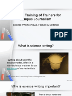 Science Journalism Workshop (1)