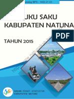 Buku Saku Kabupaten Natuna 2015