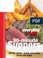 30 Minute Supper
