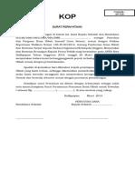 Surat Pernyataan Dan Pakta Integritas Insentif