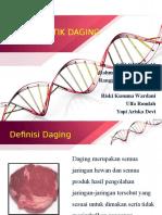 Karakteristik Daging KLOMPOK 10